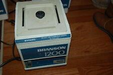 Branson Ultrasonic Cleaner waterbath water bath 1200  120V sonic dsfc