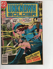 Unknown Soldier #214 (4/78) F/VF (7.0) Great Bronze Age!