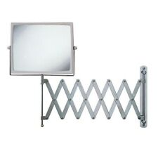 J2020C 8.3-Inch Two-Sided Swivel Wall Mount Mirror, 30-Inch Extension.