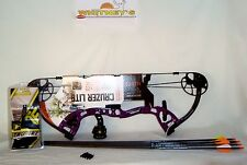 Fred Bear Cruzer LITE PURPLE Bow Right Hand FULL Package  5-45#12-27""