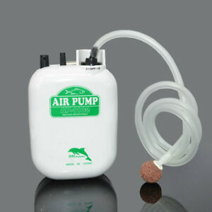 New Water-resistant Large Power Battery fishing Air Pump fishing oxygen pump aqu