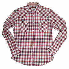 Camicie casual e maglie da uomo rossi Ben Sherman