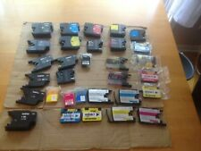 Lot of 37 Empty Brother ink Cartridges