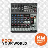 Behringer XENYX QX1202USB Mixer Small Format 12 Input w/Multi FX Audio Interface