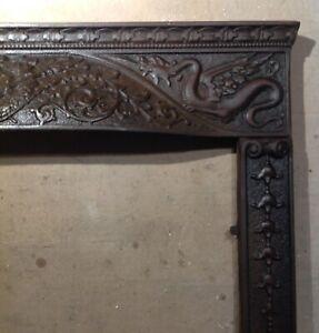 show original title Details about  /A352a Antique Cast Iron stallfenster weinkeller Iron Window Decoration