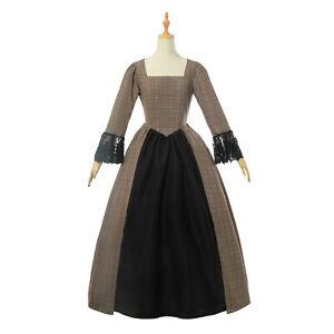 Pioneer Colonial Women Prairie Dress Renaissance Reenactment Civil War Costume