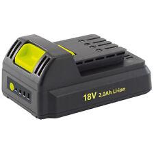Draper 80628 18v BATERIA 2.0ah Litio batería Li-ion, utilizado para 18v Power