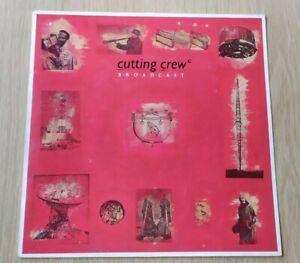 RECORD VINYL LP ALBUM CUTTING CREW, BROADCAST ROCK 80'S Siren LP7 ex/vg+