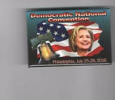 2016 pin HILLARY CLINTON Democratic CONVENTION LIBERTY BELL Philadelphia