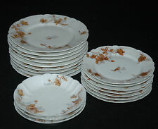 BEAUTIFUL ANTIQUE SET OF HAVILAND LIMOGES CHINA FRANCE RARE