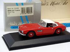 Minichamps 1/43 - BMW 507 Cabrio Rouge Blanche