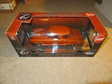 Highway 61 Studebaker Custom Coupe Orange Diecast 1:18 Scale MIB 2002