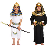 Boys Egyptian Pharoah Kids King Fancy Dress Child Book Week Party Outfit Costume