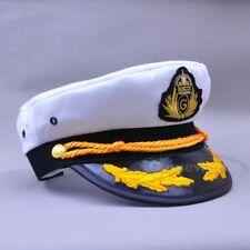 NEW Yacht Captain Skipper Sailor Boat Cotton Hat Cap Costume