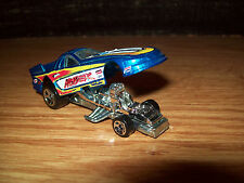 HOT WHEELS HLADEK DRAG RACE CAR FORD MUSTANG FUNNY RACE CAR TOY COLLECTIBLE