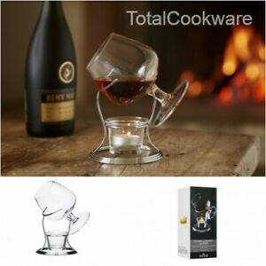 Kitchencraft  Brandy Warmer Gift Set with Glass and Stand Boxed  SEE VIDEO!!