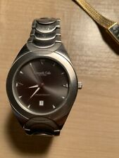 Men's Kenneth Cole New York KC3215 Stainless Steel 50M Watch New Battery