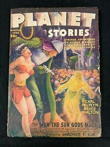 1946 FICTION HOUSE MAGAZINE *PLANET STORIES VOL 3 #5* PULP/SCIENCE FICTION