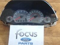FORD FOCUS MK1 CLUSTER SPEEDO PROGRAMMED TO YOUR CARS SPECIFICATION 1998-2005 F9