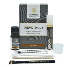 Parallel Products Eyebrow Henna Kit (Light Brown)