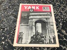 AUG 22 1943 YANK military magazine WWII (BRITISH) pinup - IDA LUPINO