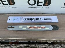 "20"" TsuMura LIGHT WEIGHT Guide Bar 3/8-063-72DL STIHL Chainsaws & More FAST SHIP"