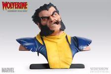 New Sideshow WOLVERINE LEGENDARY SCALE 1/2 BUST figure statue x-men rare logan