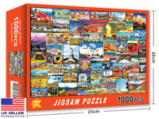 New USA landmark 1000 PIECE JIGSAW PUZZLES education KID ADULTS PUZZLE TOY