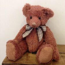 Russ Bear 'Peony' 100th Anniversary Soft Plush Bear Collectible Blush