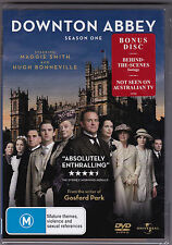 Downton Abbey - Season One - DVD (Universal Regions 2,4,5 Brand New Sealed)