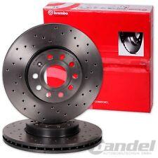 Brembo perforados Sport-discos de freno delantero audi a1 a2 a3 VW Golf IV polo (6r 9n)