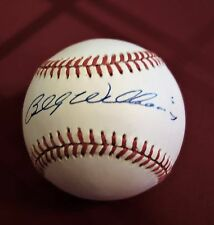 BILLY WILLIAMS -- AUTOGRAPHED / SIGNED NATIONAL LEAGUE BASEBALL