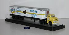 M2 Machines Moon Pie Trailer With Auto Hauler 1956 Ford CEO Release 10 Limited