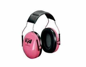 Ear Muffs 3M PELTOR Kid Passive Earmuff  Pink H510AK-442-RE