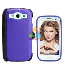 For Samsung Galaxy S3 Case (Clip fits Otterbox Defender) Screen Protector G