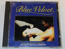 Angelo Badalamenti BLUE VELVET Isabella Rossellini David Lynch Soundtrack CD