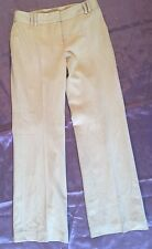 Ann Taylor Women's Trousers Fully Lined Career Dress Pants Beige NWOT Size 8