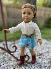 New ListingAmerican Girl Gt2007 Cowgirl Nicki Doll of The Year Retired