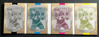 2018-19 UPPER DECK THE CUP MATT LUFF PRINTING PLATE BOOKLET YOUNG GUNS #ed 1/1