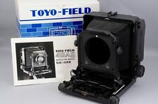 New TOYO FIELD 45A II L 4x5 Large Format Camera for Linhof Board Revolving Back
