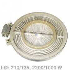 Strahlheizkörper zweikreis, 230/150mm, Bosch, Siemens,  bust2905