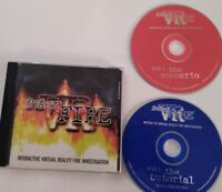 VR INTER FIRE INTERACTIVE VIRTUAL REALITY Rare INVESTIGATION 2 CD-Rom 1999 PC