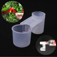 Pet Bird Drinker Feeder Water Bottle Cup For Chicken Pigeon Feeding Accessories