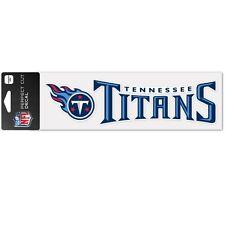 """Tennessee Titans 3""""x10"""" Perfect Cut Decal [NEW] NFL Auto Car Emblem Sticker"""