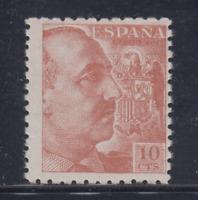 ESPAÑA (1940) NUEVO SIN FIJASELLOS MNH SPAIN - EDIFIL 920 (10 cts) FRANCO LOTE 1