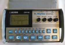 BOSS Dr. Rhythm GRAPHIC DR-110 Vintage Analog 80's Drum Machine. Fac51 Hacienda