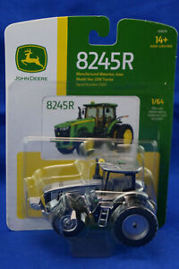 John Deere Tractor 8245R ERTL 1/64 Silver 100 Year Commemorative BNIP