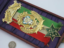 Antique Canada 1905 CANADIAN FORESTERS IOF LBC Sterling Silver Gold Medal Award