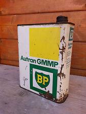 alt Kanister Öl BP autran, Vakuum Deko Garage vintage