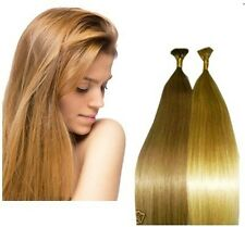 "Pre-Bond 22"" I-Tip 100 Strands European Remy AAA Grade Hair Micro Links Method"